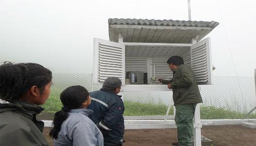 SERNANP y SENAMHI fortalecen capacidades de guardaparques de la Reserva Nacional de Lachay