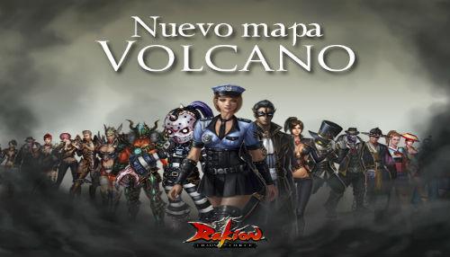Rakion presenta su nuevo mapa 'Volcano'