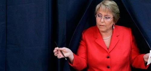 El verdadero rostro de Bachelet