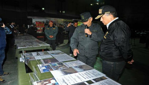 Dirección contra la corrupción de la Policía Nacional detuvo a cuatro malos efectivos