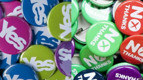 Escocia y el Reino Unido cruzan hoy el Rubicón