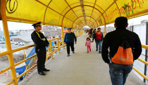 Policía Nacional puso en marcha plan de seguridad para puentes de la Vía Evitamiento