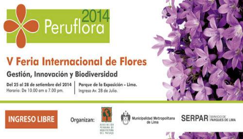 Municipalidad de Lima participará en V edición de la Feria Peru Flora 2014