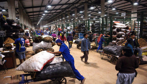 Gran Mercado Mayorista de Lima crecería 11% en ingreso de productos agrícolas en este 2014