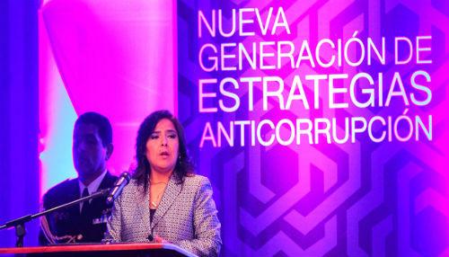 Ana Jara: Flagelo de la corrupción ocasiona pérdidas de casi S/. 10 mil millones al año