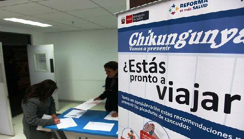 Más de 3 mil 800 trabajadores del sector salud participan del Curso Virtual de Chikungunya