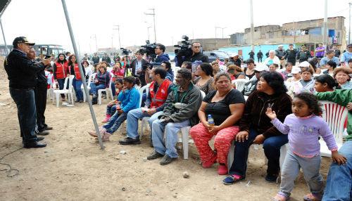 Equipo multisectorial gestiona avances en zona sur del callao para hacer frente a la inseguridad