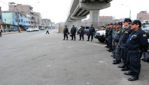 Policía Nacional continúa con la recuperación de la Avenida Aviación