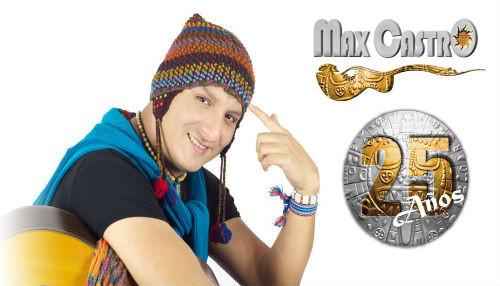 Max Castro empieza las celebraciones de su 25° aniversario en MegaPlaza