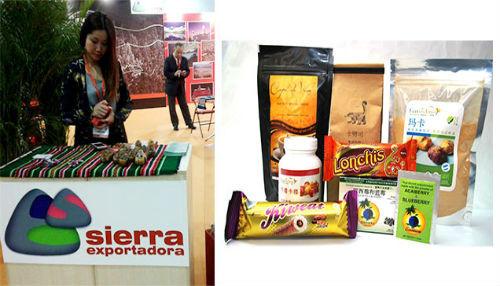 Se promociona productos peruanos con alto valor nutritivo en Feria Internacional de Comercio en China