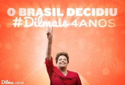 Brasil optó una vez más por Dilma