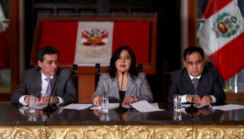 Premier Ana Jara anunció conjunto de medidas tributarias y laborales que reactivarán la economía
