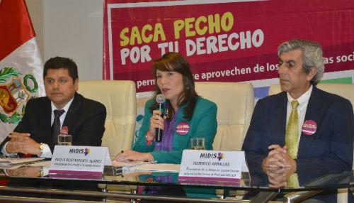 MIDIS y Defensoría del Pueblo presentaron resultados de campaña para evitar uso político de los programas sociales