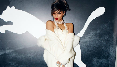 Rihanna se asocia son Puma