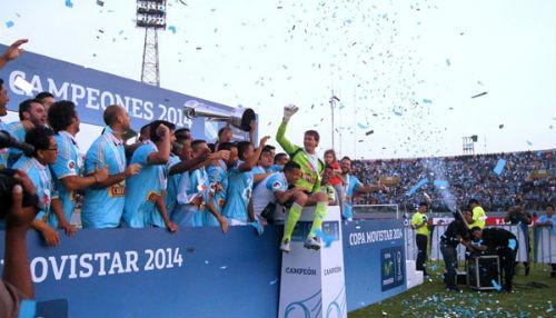 Sporting Cristal se coronó campeón en Trujillo