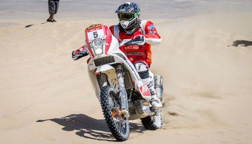 Felipe Ríos ya se encuentra en Argentina para iniciar el Rally Dakar 2015