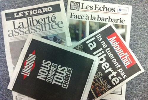 [Atentado en Francia] Los titulares de la prensa francesa luego del ataque a Charlie Hebdo