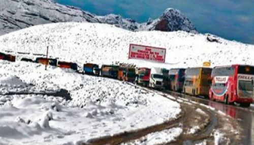 Nevadas ocasionan daños en Ayacucho y Huancavelica
