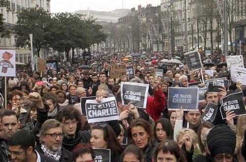[Francia] Manifestación contra el terrorismo, sin precedentes, en París