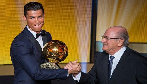 Cristiano Ronaldo gana el Balón de Oro 2014