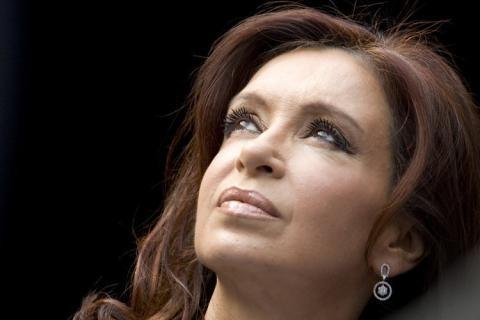 Cristina Fernández festejó su cumpleaños en El Calafate