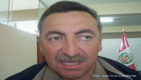 Entrevista al Director General de la Policia Nacional del Perú Gral. Raúl Salazar