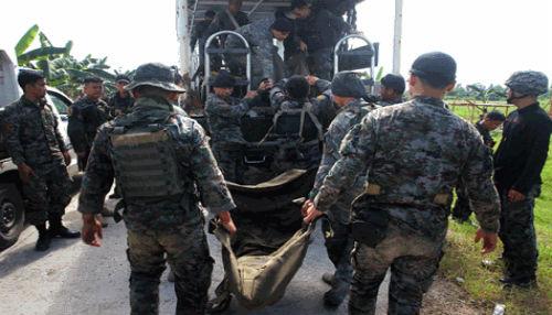 Filipinas: 50 policías muertos en enfrentamientos con rebeldes