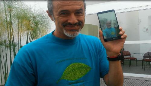 Huawei presenta a Carlos Alcántara como imagen de marca en el Perú