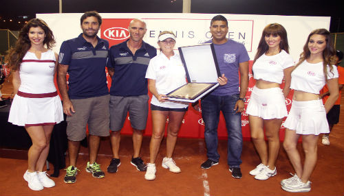 Equipo Flamencos ganó torneo Kia Tennis Open Asia 2015