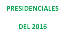 Presidenciales del 2016: generalidades como única propuesta