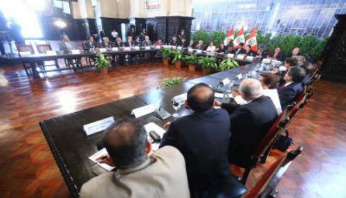 Presidente Humala: Diálogo con partidos políticos permitirá acuerdos sobre reforma electoral