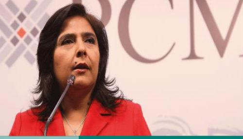 Ana Jara saluda publicación de reforma constitucional que prohíbe la reelección inmediata de autoridades regionales y locales
