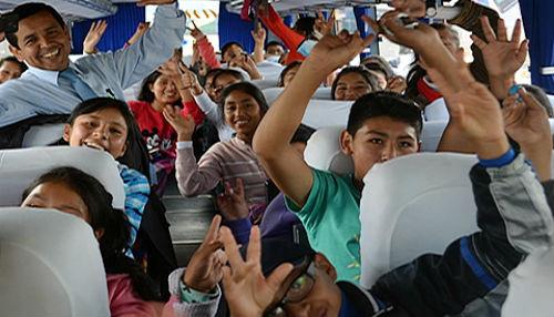 Estudiantes de COAR Ayacucho participan en programa especial de intercambio