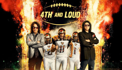 En marzo el fútbol se viste de rock '4TH and Loud'