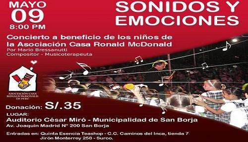 Mario Bressanutti ofrecerá concierto en Perú