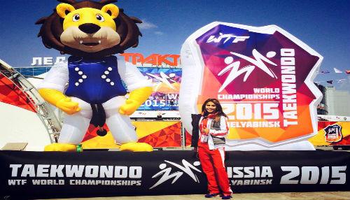 Julissa Diez Canseco se ubicó en quinto lugar en Mundial de Tae Kwon Do en Rusia