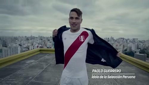 Paolo Guerrero responde a reto de Powerade y Hugo ´Cholo´ Sotil