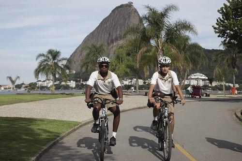 Disfrutando de Brasil en bicicleta