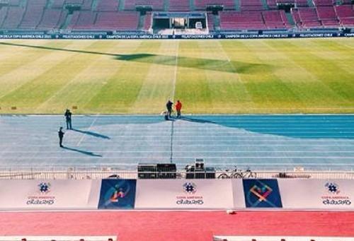 Encuentro de Instagrammers en el Estadio Nacional para el primer #EmptyStadium de América Latina