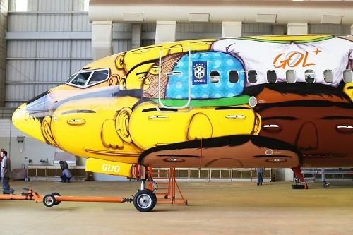Aviones pintados sobrevuelan los cielos de Lima promocionando los Juegos Olímpicos Río 2016