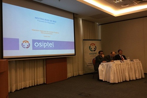 OSIPTEL: La propuesta para regular la neutralidad de red garantiza la libertad de elección de los usuarios