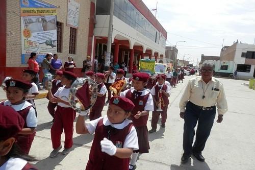 Escolares de Ciudad Eten se preparan para IV Simulacro de Sismo