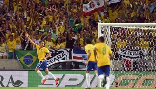 Eliminatorias Rusia 2018: Brasil derrotó a Venezuela por 3-1