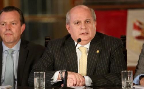 Pedro Cateriano: Actividades de inteligencia operativa de la DINI seguirán suspendidas durante el proceso electoral