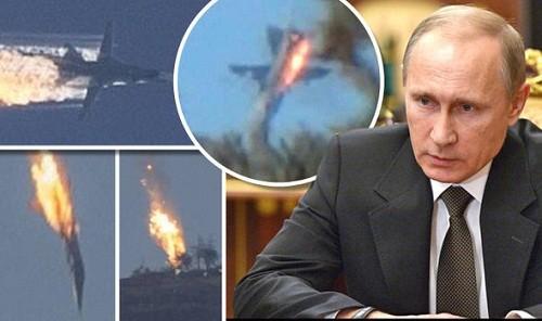 Turquía derribó un avión de combate ruso cerca de la frontera con Siria