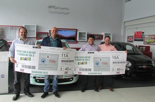 """""""Fiat Test Drive"""" premió a los ganadores del viaje a Brasil"""
