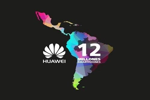 Huawei lidera venta de smartphones a nivel  nacional y supera los 12 millones de unidades vendidas a nivel regional