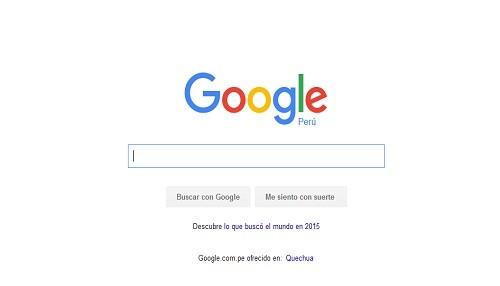 Google te revela qué buscaron los peruanos este 2015