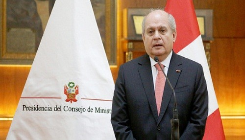 Pedro Cateriano: Ley de flagrancia permite aplicación rápida de penas y es disuasiva
