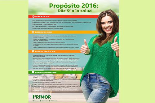 Propósito 2016: dile sí a la salud